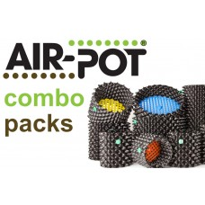 Combo Pack 3: One 4 L Seed Tray, Two Each of  1 L Prop Pot, 3 L, 9 L, 20 L and 38 L Air-Pot Containers